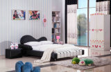 The Most Popular Modern Children Leather or Fabric Piano Bed (HC005)