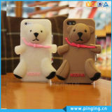 Silicone Phone Case 3D Teddy Bear Case for iPhone 6/6s