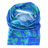 OEM Customized Design Printed Polyester Cheap Blue Neck Tube Bandanna