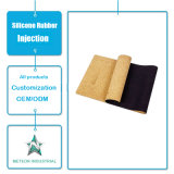 Customized Silicone Rubber Products Fitness Mat Silicone Pad Injection Molding