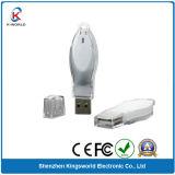 Silver Plastic USB Disk 2GB