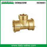 Customized Forged 3/4′′ Brass Equal Female Tee (AV-BF-7020)