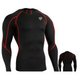 Compression Under Base Layer Top Skin Tight Long Sleeve T-Shirts Sports (SRC61)