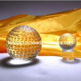 Decorative Clear Optic Glass Balls and Crystal Ball Paperweight (KS12002)
