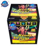 25 Shots Color Box for Europen Market Cake Fireworks
