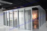 Excellent Design Aluminum Pocket Door with Double Glass