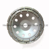 Double Row Diamond Cup Wheel for Concrete Floor Preparation