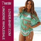 Women Casual Wholesale Shirt Blouse Beach Clothes (L38212)