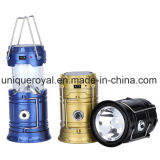 Collapsible Solar Light Rechargeable Camping Lantern