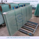 3-15mm Tempered Acid Etched Glass, Frosted Glass, Satin Glass for Glass Door