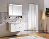 3 Door Mirror Cabinet LED Light Luxuri Bathroom Dressing Cabinets Design