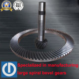 Spiral Bevel Gears and Shaft for Heavy Machine