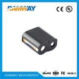High Open Circuit Voltage Lithium Battery for Alarms and Security Devices