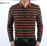 Long Sleeve Polo T-Shirt Men′s Shirts (FY-0311)