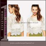 Wholesale Lace Fashion Shirt Two-Piece Boho Ladies Top (25488)
