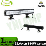 144W 25.6inch off Road LED Light Bar with CREE LEDs