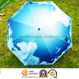 Blue Rain Straight Sky Umbrella for Promotional Gifts (SU-0023BSKY)