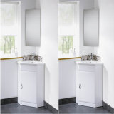 MDF Baking Varning Corner Bathroom Cabinet, Corner Sanitaryware
