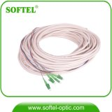 Multimode 3.0mm Fiber Optic Sc APC Bundle Pigtail