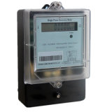 Long Terminal Cover IP54 Window Single Phase Electronic Energy Meter