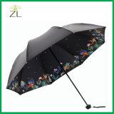 Promotional Mini Windproof Three Folding Umbrella