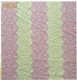 Flower Pattern Lace Fabric (with oeko-tex standard 100 certification HL697)
