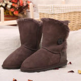 Genuine Australian Double Face Sheepskin Winter Boots for Women