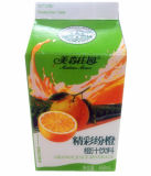 6-Layer 468ml Orange Juice/Milk/Cream/Wine/Water/Yoghurt Beverage Carton/Box