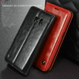 2016 Best Selling Flip PU Leather Case for Samsung Galaxy S5 S6 S7 Cell Phone Cover Case