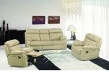 High Back Leather Recliner Sofa Set