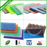 Durable Decorative PC Embossed Boards Plain Solid Plastic PC Corrugated Sheets