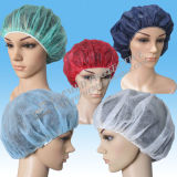 (SPP) Nowoven Bouffant Cap, Clip Cap, Disposable Doctor Cap