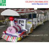 Amusement Park Electric Train Electric Track Train 14 Seats Electric Thomas Train for Sale