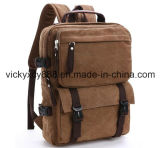 Leisure Canvas iPad Travel Shopping Laptop Computer Backpack Bag (CY1824)