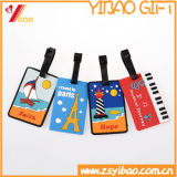 Manufacture Customize Promotional Airline Travel PU Leather Luggage Tag