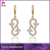 Wholesale Fashion Diamond Trendy Zircon Hanging Stud Earrings Jewelry
