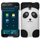Zizo Rubberized Design Case for Galaxy Mega 2 - Panda Bear