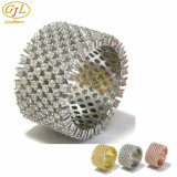 925 Sterling Silver Ring with 3A White CZ for Guangzhou Factory Price