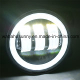 Hot Sale 4 Inch 30W LED for Jeep Wrangler Fog Lamp with Halo Ring