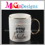 Colored Ceramic Mug with Custom Pattern Cup