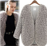 2016 Autumn Latest Lady Cardigan Women Woollen Coat