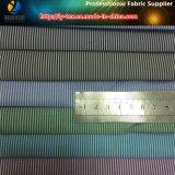 Newest T/C Yarn Dyed Stripe Woven Fabric for Shirt, Popular Twill Stripe Shirt Fabric
