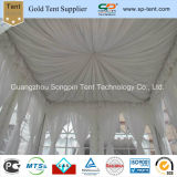 3X3m Shade Pergola with Full Windows Sidewalls and White Pleated Linings