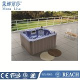 2.05 Meters New Modern Square Blue Acrylic Hot Tubs