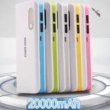 Li-ion Battery Mobile Power Bank 10000mAh with LED Phone Charger