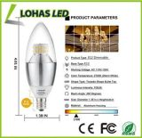 60 Watt Equivalent Warm White E12 LED Decorative Candle Light Bulb Candelabra Base
