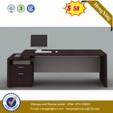 Modern L-Shape Executive Desk Veneer Office Table (NS-NW089)