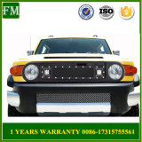 for Toyota Fj Cruiser Black Stainless Steel Grille with Lights