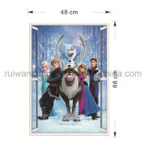Elsa Cartoon Star Vinyl Wall Removable Sticker for Kids Room