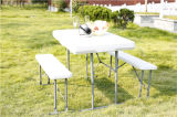HDPE Plastic Folding Beer Table and Bench Set